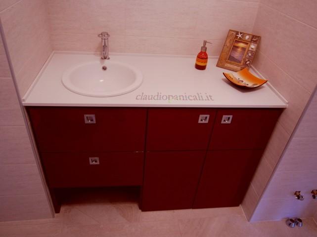 Mobile da bagno lavatrice asciugatrice con portabiancheria e scarpiera - Mobile sottolavello bagno ...