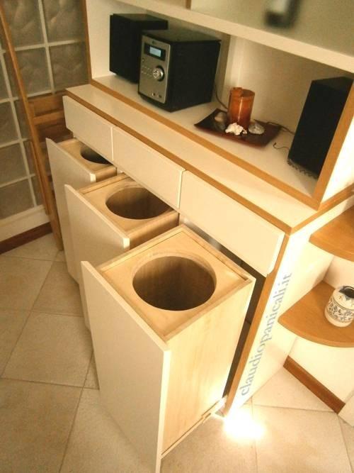 Mobile cucina a credenza e mobile televisore dispensa con veterinetta - Mobile con cassetti per cucina ...