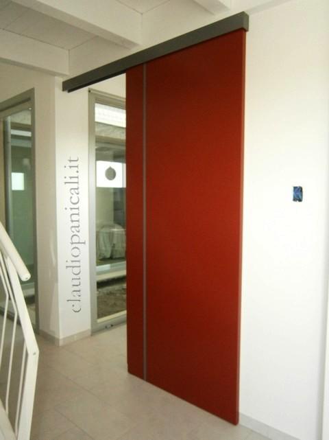 Porte e pareti scorrevoli ante specchio plexiglas erp for Porta scorrevole economica