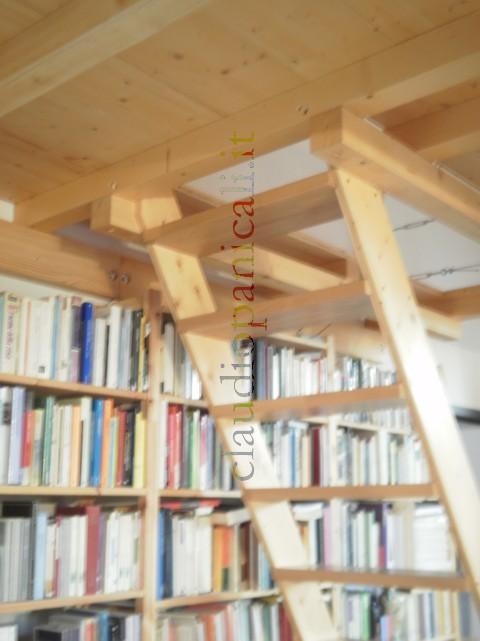 Scala su misura in legno per soppalco in legno e ferro - Scale in legno prezzi ...