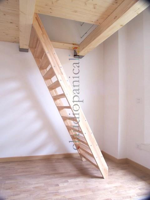 Soppalco in legno e ferro acciaio su misura - Scale per soppalchi ...