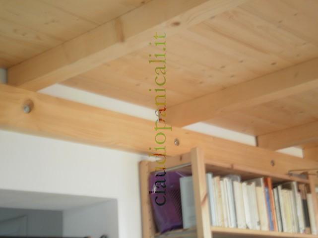 Soppalco in legno e ferro acciaio su misura for Piano di costruzione in legno soppalco